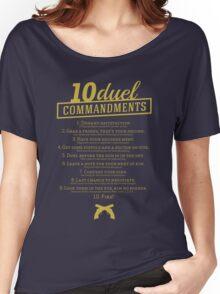10 Duel Commandments Women's Relaxed Fit T-Shirt