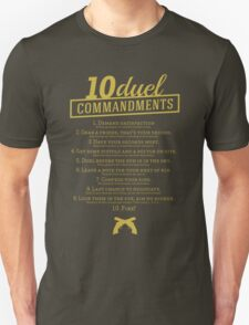 10 Duel Commandments T-Shirt
