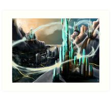 City of Energy Art Print