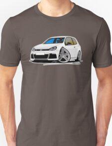 VW Golf (Mk6) R White T-Shirt