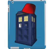 Tardis with a Fez iPad Case/Skin