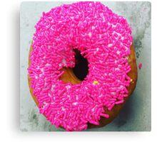 Sprinkles donut Canvas Print