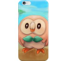 Rowlet Fan Art iPhone Case/Skin