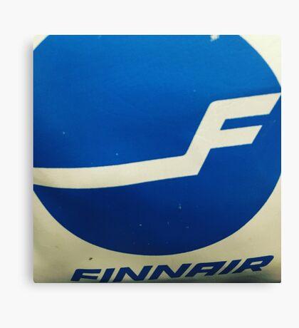 FinAir bag Canvas Print