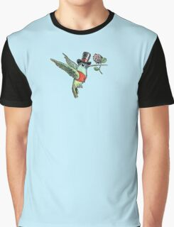 Dapper Hummingbird Graphic T-Shirt