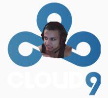 Tyler 1 Cloud 9 : ^) Kids Tee