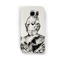 Knight, Painted With Cardboard Samsung Galaxy Case/Skin