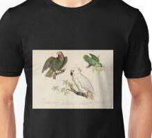 Bilder atlas zur Wissenschaftlich populären Naturgeschichte der Vögel in ihren sämmtlichen Hauptformen Leopold Joseph Fitzinger 1864 004 Unisex T-Shirt