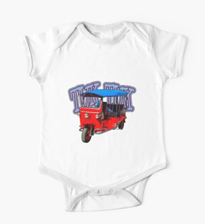 Best First Car for a Millennial is Tuk-Tuk! One Piece - Short Sleeve