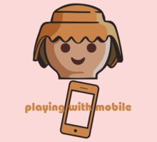 Playing With Mobile Kids Tee