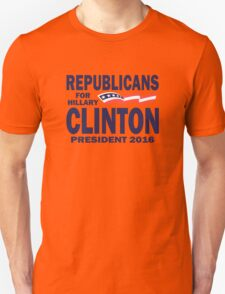 Republicans for Hillary T-Shirt