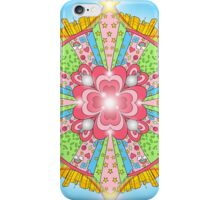 Sugar, Spice, and Everything Nice Kaleidoscope iPhone Case/Skin