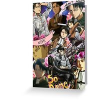 Levi Ackerman Collage Greeting Card