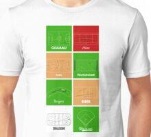 Line Art Sport Unisex T-Shirt