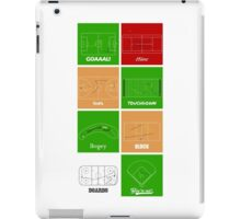 Line Art Sport iPad Case/Skin