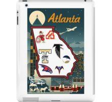 Atlanta Retro iPad Case/Skin