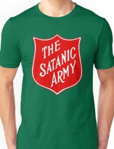 Satanic Army Salvo Shield Unisex T-Shirt