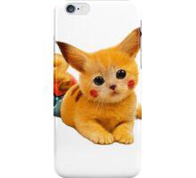 Pikachu the Kitty iPhone Case/Skin