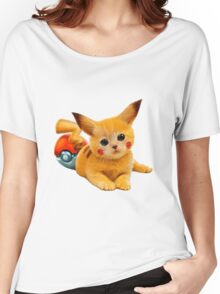 Pikachu the Kitty Women's Relaxed Fit T-Shirt