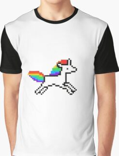 Pixel Pony Graphic T-Shirt
