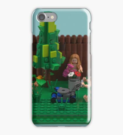 World Naked Gardening Day  iPhone Case/Skin