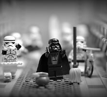 Lord Vader Clean Up In Aisle Six by minifignick