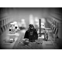 Lord Vader Clean Up In Aisle Six Photographic Print