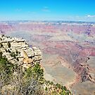 South Rim - Mather Point by John Schneider