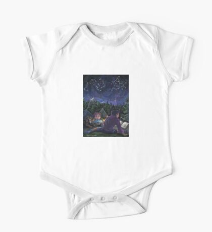 Starry Night One Piece - Short Sleeve