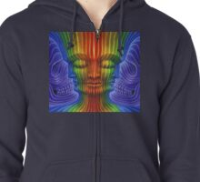 Alex Grey Colourfull 5 Zipped Hoodie