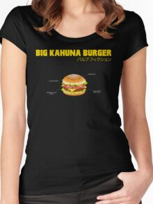 Big Kahuna Burger Women's Fitted Scoop T-Shirt