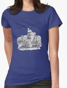 Don't Mess With Mother Earth - J. J. Grandville Illustration Womens Fitted T-Shirt