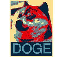 Vote Doge Photographic Print