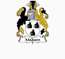 McQueen Coat of Arms / McQueen Family Crest Unisex T-Shirt