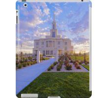 Payson Temple I iPad Case/Skin