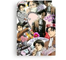 Levi Ackerman Collage Canvas Print