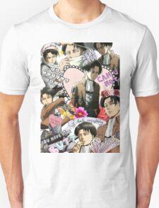 Levi Ackerman Collage Unisex T-Shirt