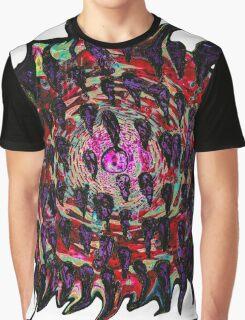 psychedelic twisting vortex  Graphic T-Shirt