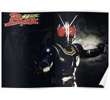 Kamen Rider Black Fight Poster