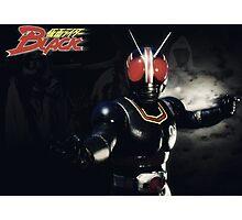 Kamen Rider Black Fight Photographic Print