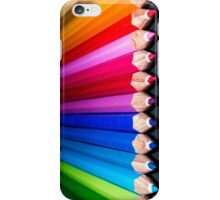 Colours Pencils iPhone Case/Skin
