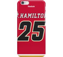 Calgary Flames Freddie Hamilton Jersey Back Phone Case iPhone Case/Skin