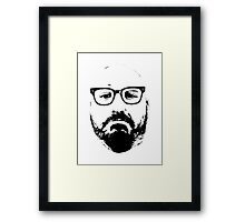 Tough Guy Tee - NOT A HIPSTER Framed Print