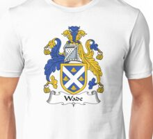 Wade Coat of Arms / Wade Family Crest Unisex T-Shirt