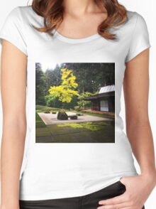 Zen Garden Women's Fitted Scoop T-Shirt