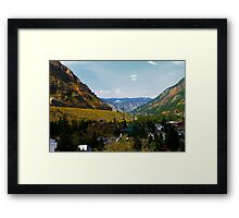 Georgetown Colorado Framed Print