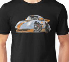 Porsche 911 997 Turbo caricature Unisex T-Shirt