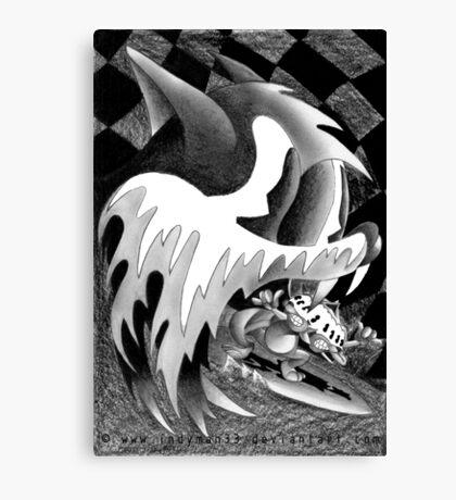Flash Delirium Canvas Print