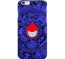 The Drop in Blue and Black iPhone Case/Skin