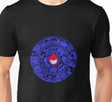 The Drop in Blue and Black Unisex T-Shirt